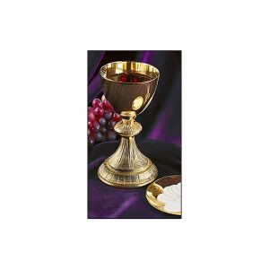 Dual Finish Chalice and Paten Set