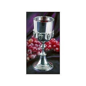 Communion Chalice With Grapes