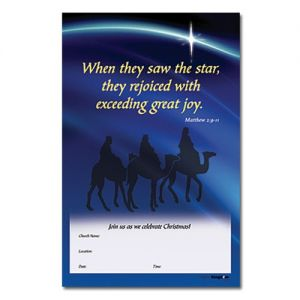 Wisemen Christmas Outreach Poster
