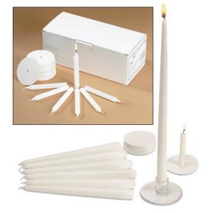 Candlelight Service Candle Kit for 50 People