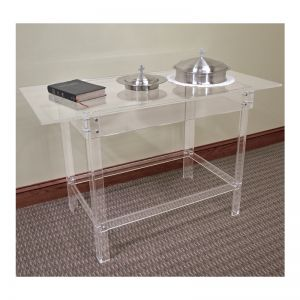 Kingdom Acrylic Communion Table