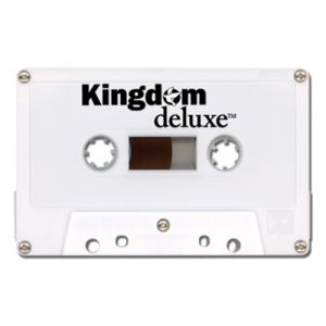 Kingdom Deluxe Cassette Tape - 5 Minute - White