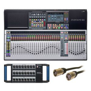Presonus Studio Live 32s Digital Mixer and 16 Channel Stage Box Package