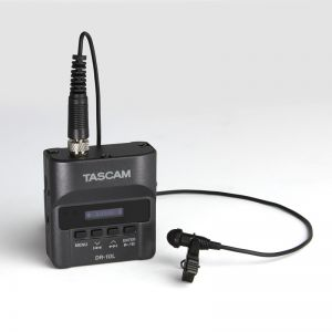 Digital Audio Recorder with Lavalier Mic