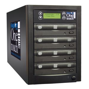 Kingdom One Touch 3 Copy DVD CD Duplicator - 320 GB HD