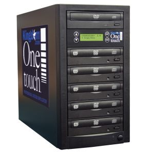 Kingdom One Touch 5 Copy DVD 24X CD 48X Duplicator