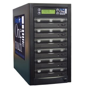 Kingdom One Touch 5 Copy DVD CD Duplicator - 320 GB HD