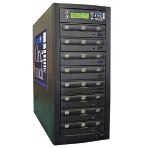 Kingdom One Touch 7 Copy DVD CD Duplicator - 320 GB HD