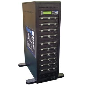 Kingdom One Touch 9 Copy DVD CD Duplicators - 320 GB HD