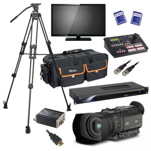 JVC GY-HM170U Camera and DATAVIDEO Package