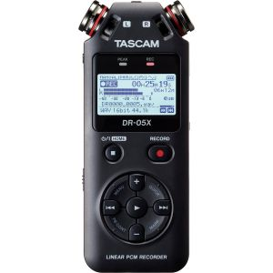 Tascam DR-05X Stereo Handheld Digital Audio Recorder & USB Interface