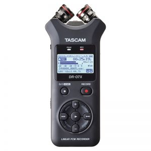 Tascam DR-07X Stereo Handheld Audio Recorder & USB Interface