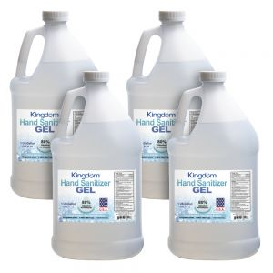 4 Gallons of Kingdom Hand Sanitizer Gel