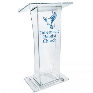 Personalized Classic Curvy Lectern