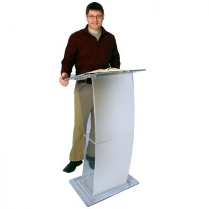 Eclipse Acrylic Lectern