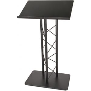 Essex Metal Lectern Black