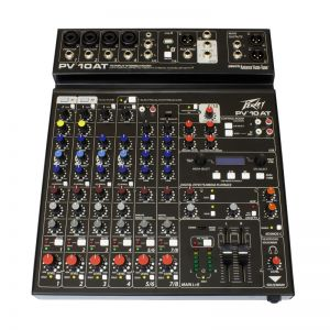 Non-Powered Mixer with Auto Tune- 10 Channels