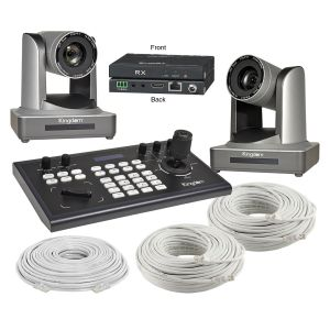 Kingdom Remote Controlled 30x HD Base-T Two Camera Package