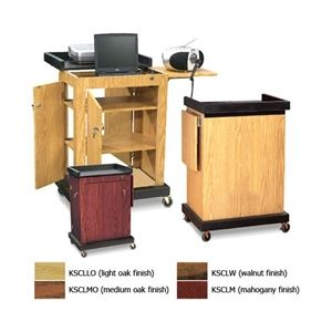 Smart Cart Lectern - Variety of Finishes 1