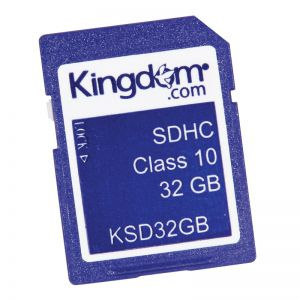 Secure Digital SD Memory-Media Storage Card - 32GB