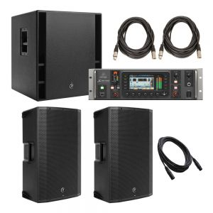 Mackie Thump and 32 Channel Digital Rack Mount Package