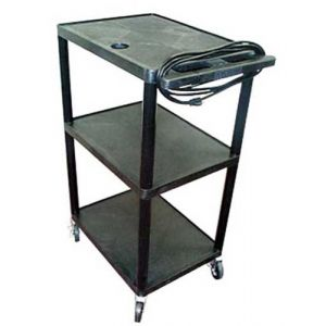 High Impact Plastic Overhead Projector Cart