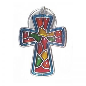 Cross Suncatcher - Pack of 3