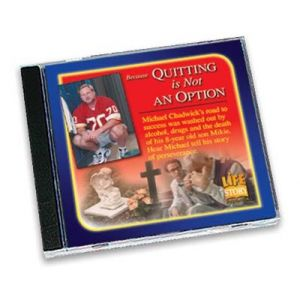 Life Stories Quitting is Not an Option - CD