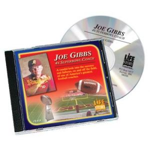 Life Stories Four Times Superbowl Coach - Joe Gibbs - CD