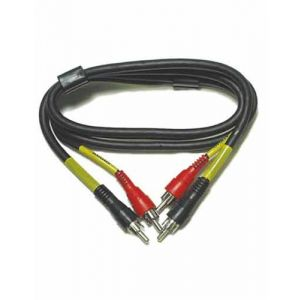 RCA Stereo Patch Cable - 3 Foot