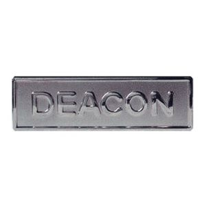 Deacon Badge 1