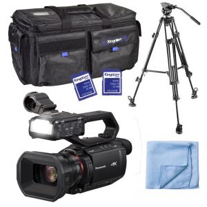 Panasonic AG-CX10 Live Streaming 4K Camcorder Shooter Package