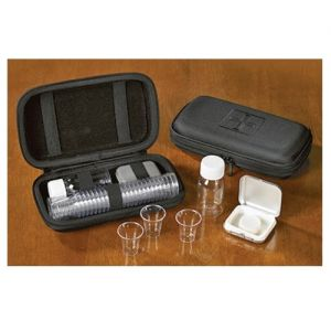 Portable Communion Set in Cloth Case