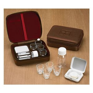 Portable Communion Set w/ 4 Glasses 1