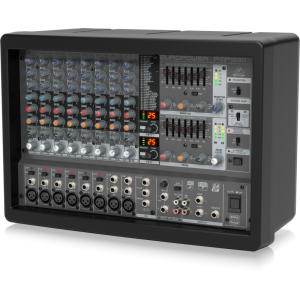 Behringer EUROPOWER PMP1680S Powered Mixer - 1600 Watts - 10 Channels