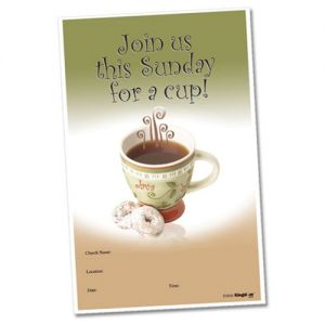 Join Us for a Cup this Sunday! Poster 1