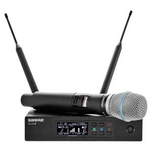 Shure QLXD24/B87A-V50 Digital Wireless Handheld Microphone System