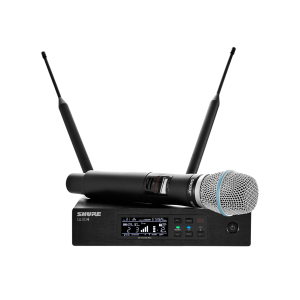 Shure QLXD24/B87A-H50 Digital Wireless Handheld Microphone System
