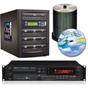 Tascam CD Recorder and 3 Bay Duplicator Package
