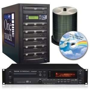 Tascam CD Recorder and 5 Bay Duplicator Package