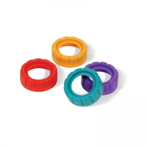 Colored Rings for Microphone Identification