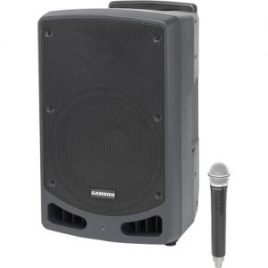 "Samson XP312W 300 Watt 12"" Rechargeable Portable PA Systems with Wireless Microphone"