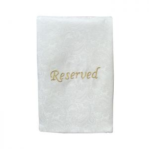 Pew Sash - Reserved -1