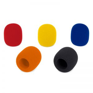Samson WS1C Microphone Windscreen 5-Pack (Mixed Colors)