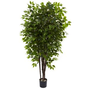 Deluxe Ficus Silk Tree 6.5ft