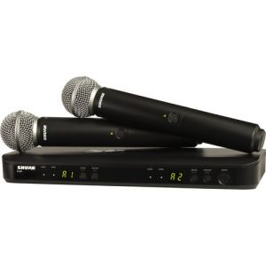 Shure BLX288/SM58 Wireless Dual Vocal System