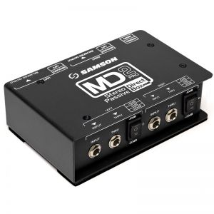 Samson MD2 Pro - Unbalanced to balanced audio converter_2