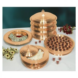 Copper Plated Communion Ware - Complete Set for 160 People