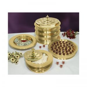 Brasstone Communion Ware - Complete Set for 160 People