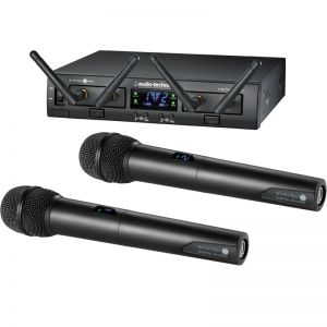 Audio-Technica ATW-1322 Dual Handheld Wireless System